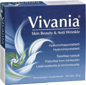 Vivania Skin Beauty and Anti wrinkle 60 tabs