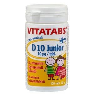 Vitatabs D10 Junior 100 tabs